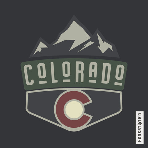 Classic Colorado Badge Tee Shirt