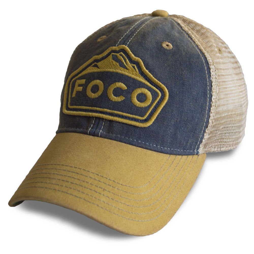 FOCO Mountains Trucker Hat
