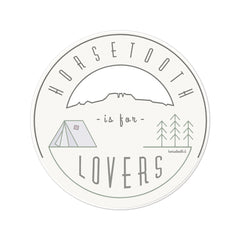 Horsetooth is for Lovers Sticker