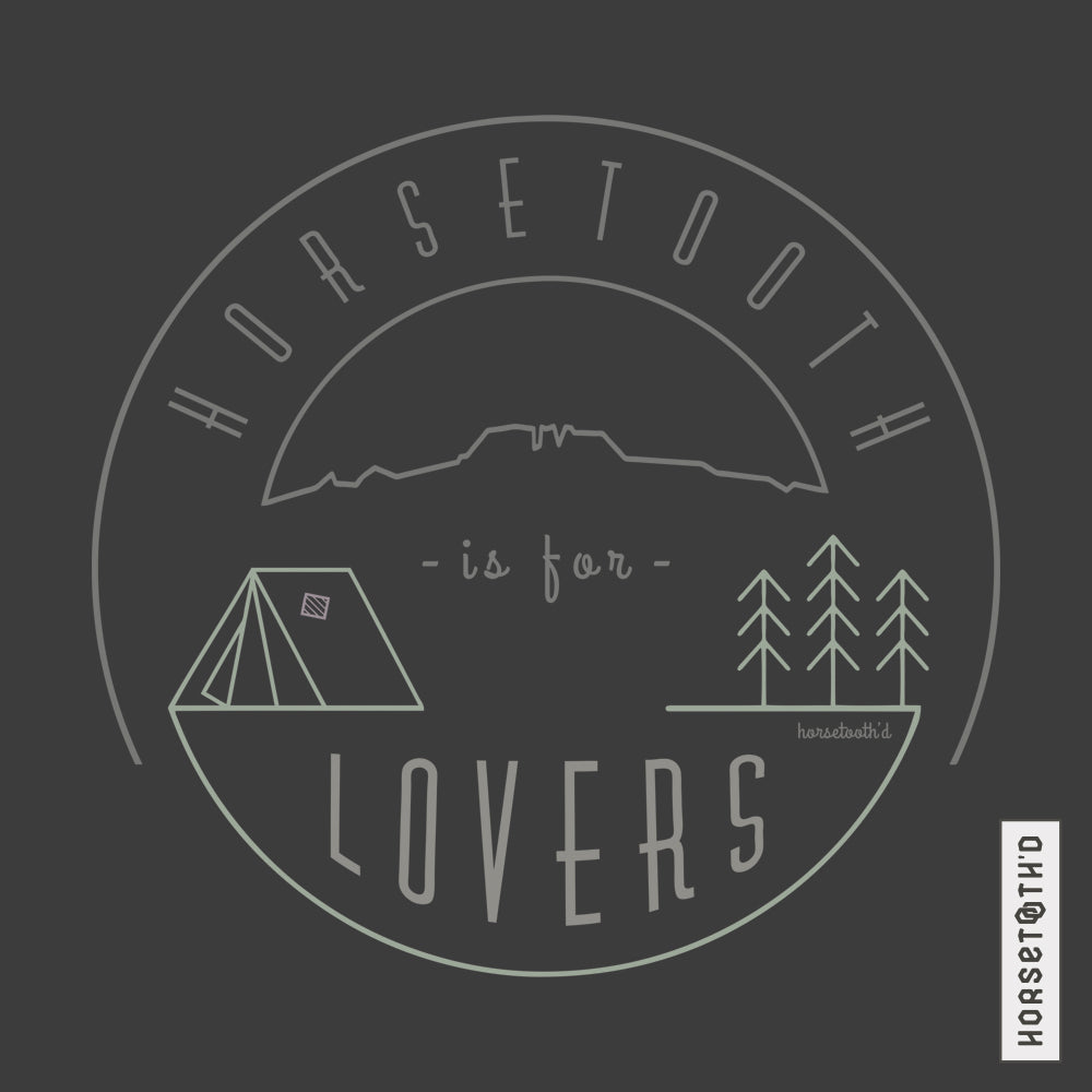 Horsetooth is for Lovers Tri Unisex Hoodie