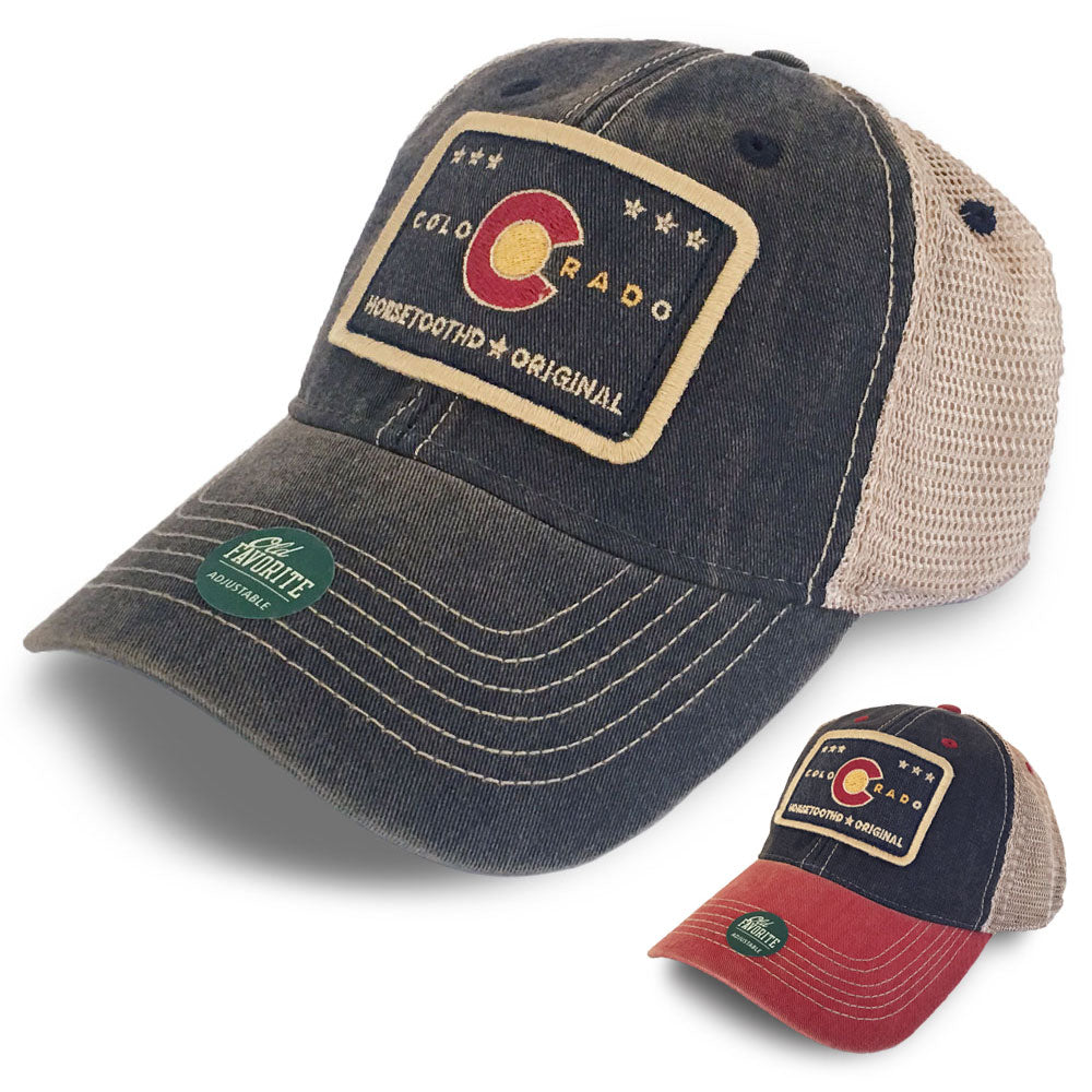 Horsetooth'd Legacy Trucker Hat Colorado