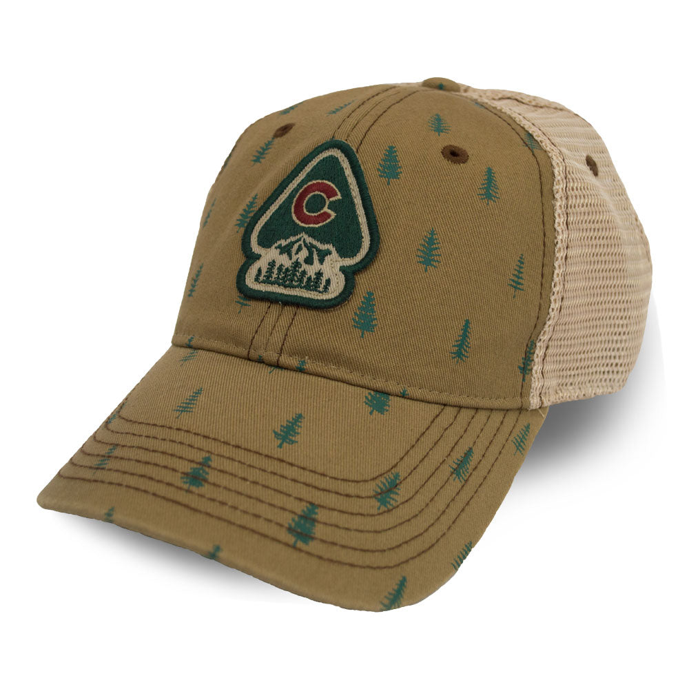 Pine Tree Trucker Hat