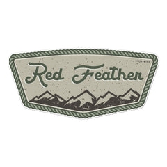 Red Feather Lakes Badge Sticker