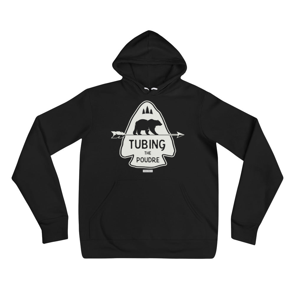 Tubing the Poudre Unisex Hoodie
