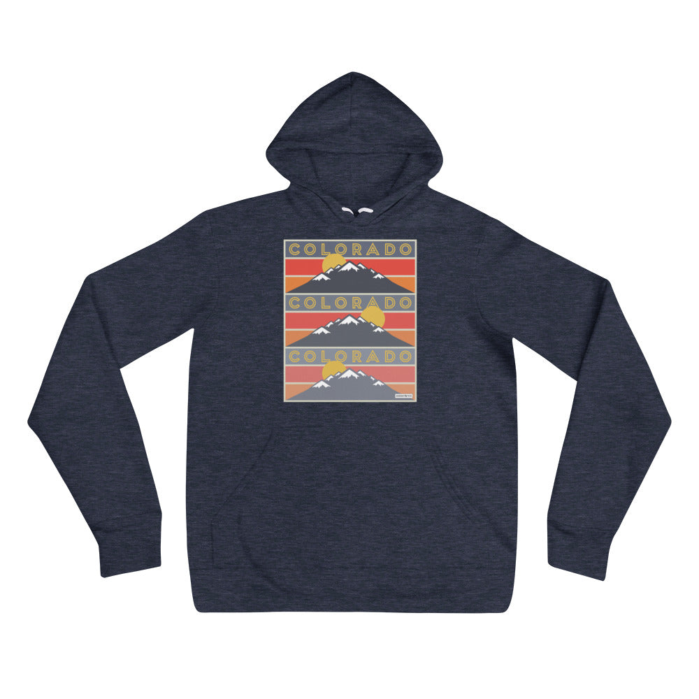 Colorado 3up Unisex hoodie