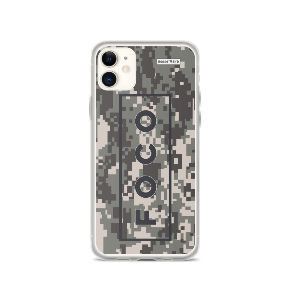 FOCO Camo iPhone Case