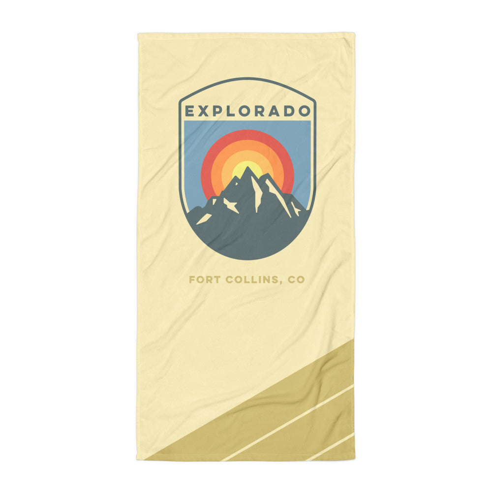 Explorado Beach Towel