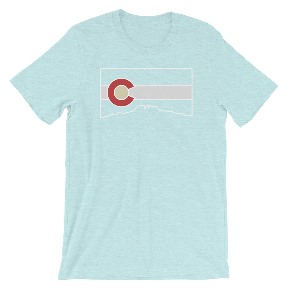 Flag Cutout Tee Shirt