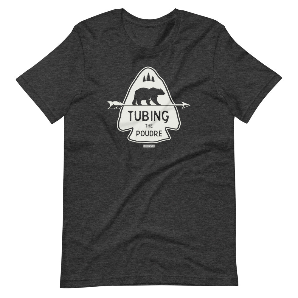 Tubing the Poudre Tee Shirt