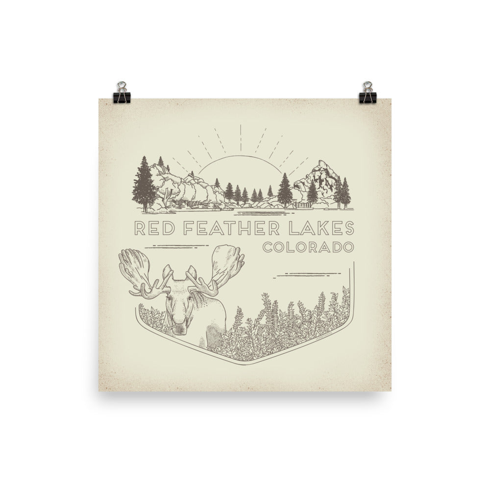 Red Feather Lakes Poster