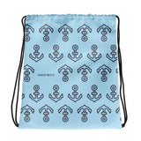 Boating Horsetooth Drawstring Bag