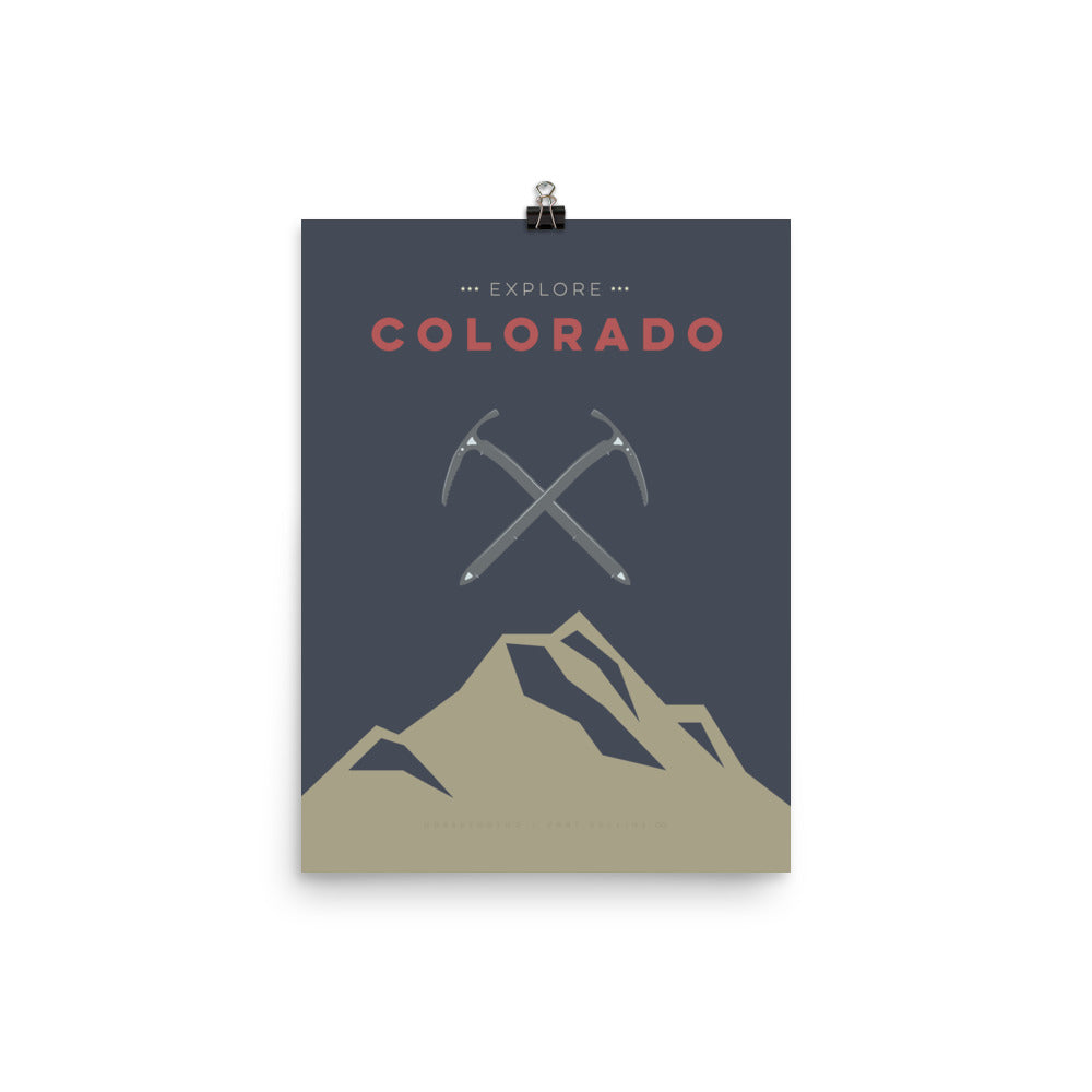 Explore Colorado Poster
