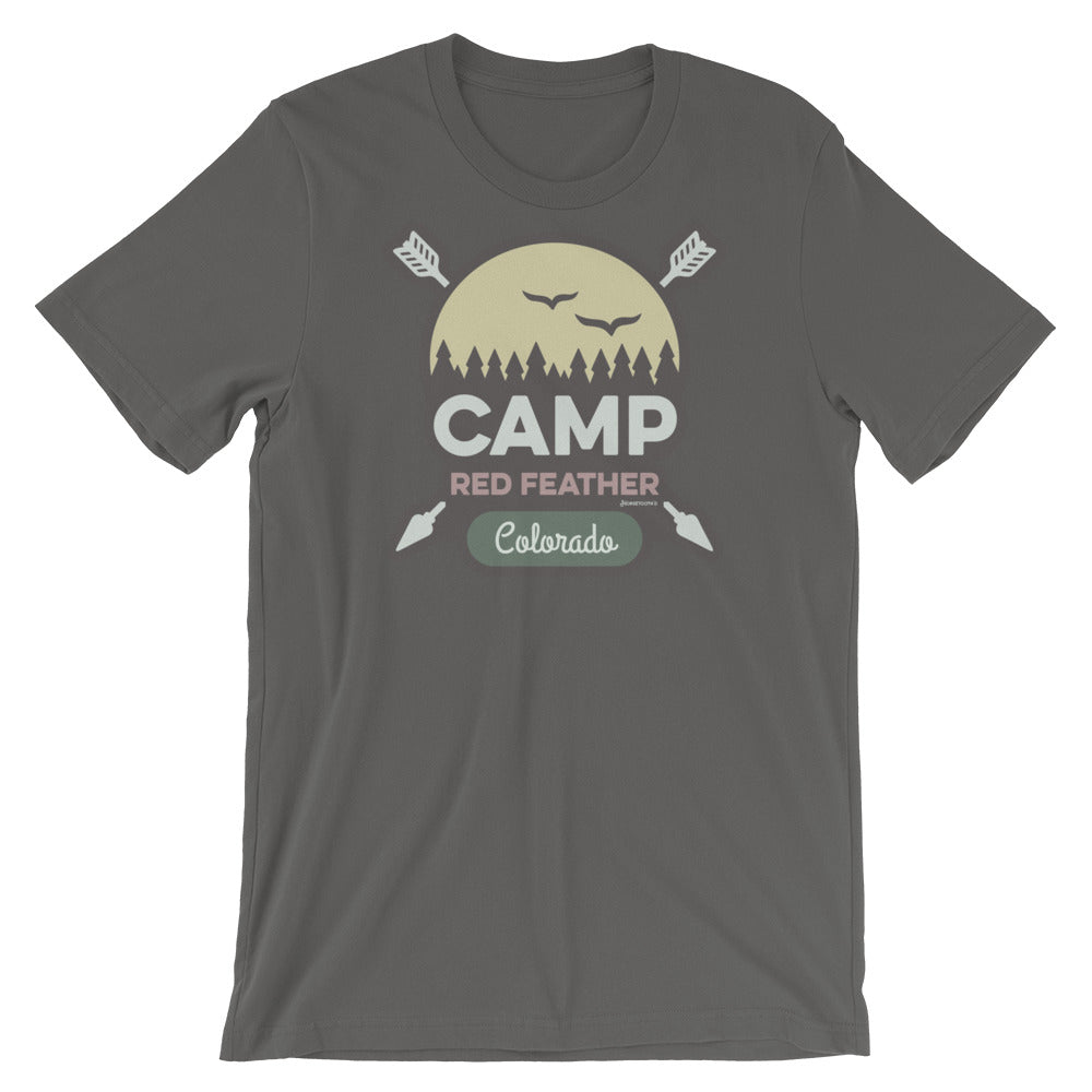 Camp Red Feather Tee Shirt