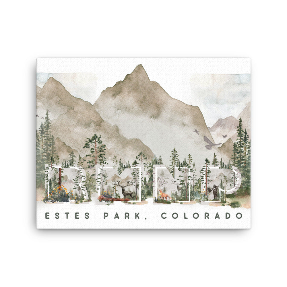 RMNP Estes Park, Colorado Canvas Full