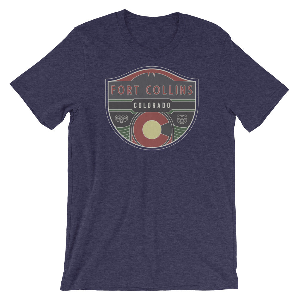 Fort Collins Badge Tee Shirt