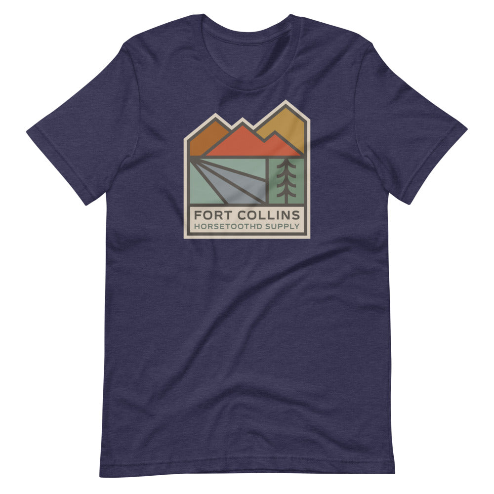 Fort Collins Horsetooth'd Supply Tee Shirt