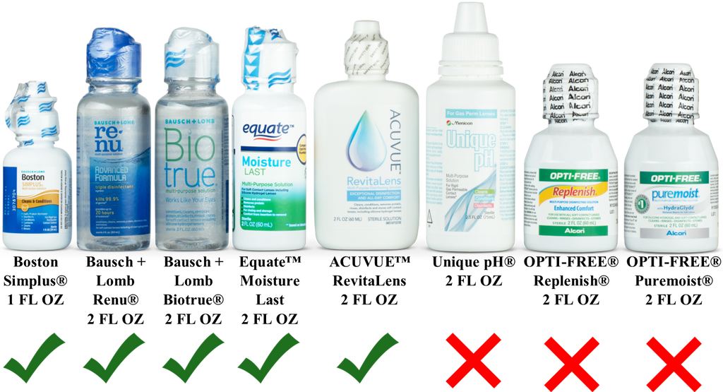 Travel Contact Lens Solution
