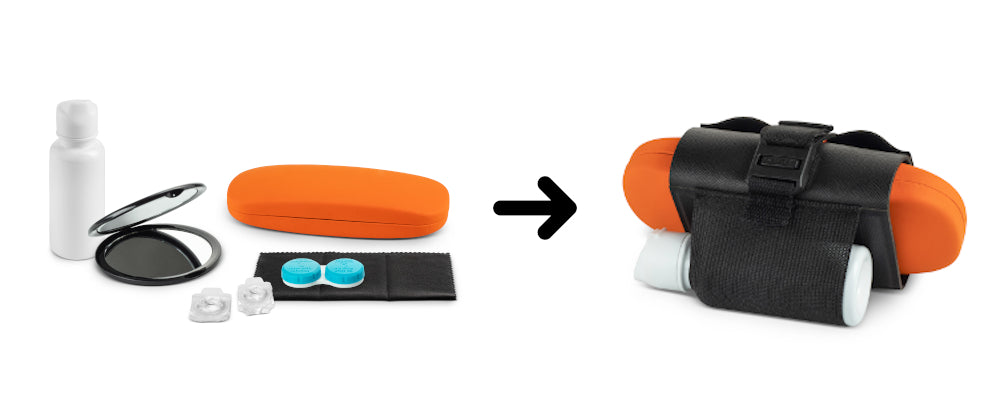 Oplee travel contact lens case