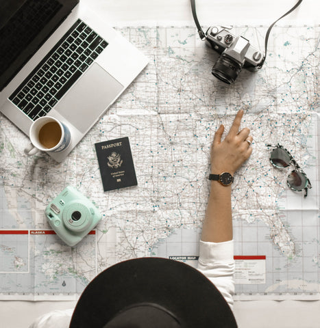 Traveling tips with contact lenses