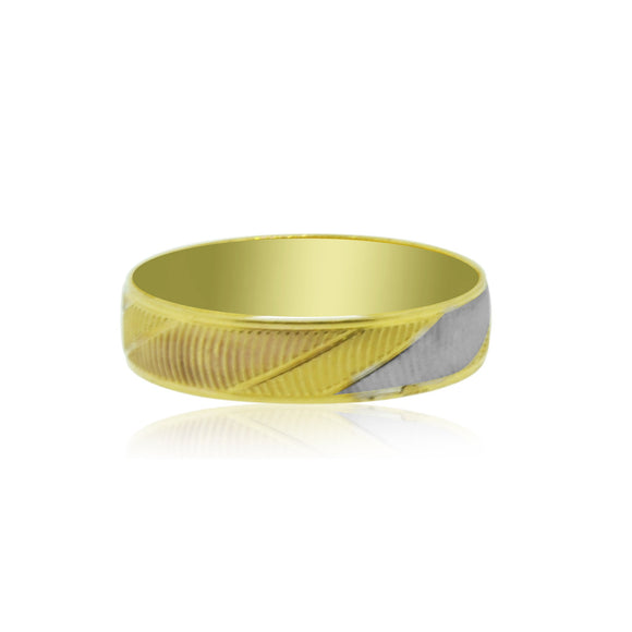 22kt Yellow Gold Unisex Band
