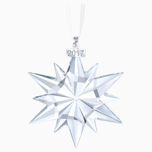 Swarovski 2017 Annual Edition Crystal Star Ornament - QueensDiamondandJewelry