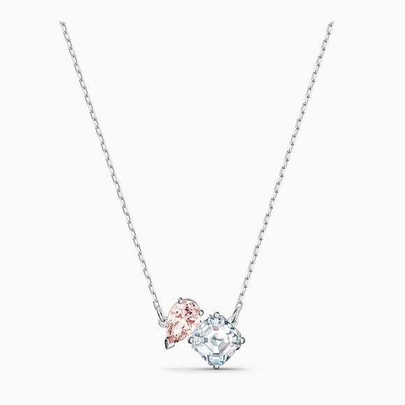 Swarovski Beautiful Attract Soul Necklace - QueensDiamondandJewelry