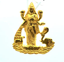 Load image into Gallery viewer, 22K Yellow Gold  Laxmi Pendant
