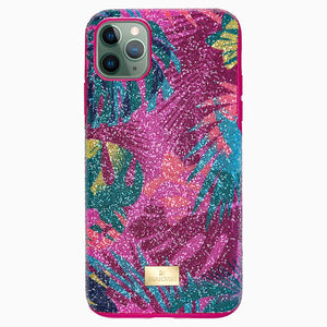 Tropical Smartphone Case with Bumper, iPhone® 11 Pro Max, Dark multi-colored