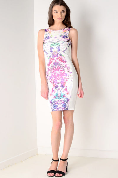 Multi Print Bodycon