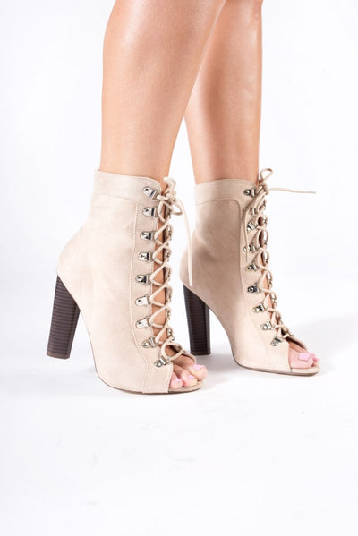 Lace up Sand Boots