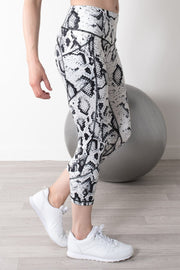Snake Print Active Leggings