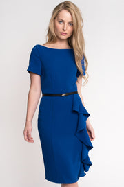 Blue Ripple Dress
