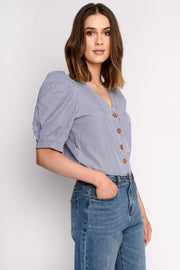 Statement Sleeve Button TopTop