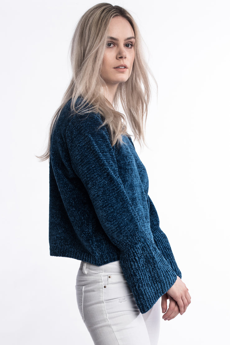 Blue Super Soft Jumper
