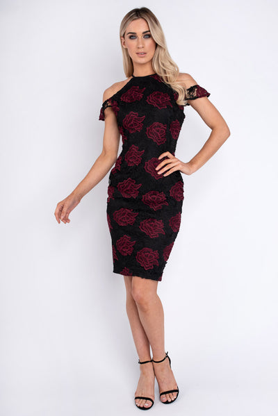 Aoife Floral Lace Dress