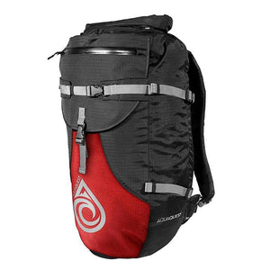 Waterproof Backpacks, Spindrift Backpack 30 L | Black/ Red - AquaQuest