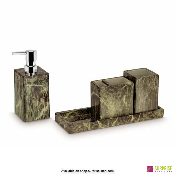 Surprise Home - Copper 4 Pcs Bath Set