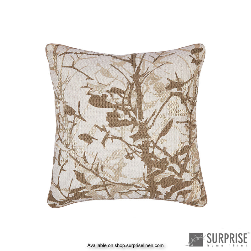 Surprise Home - Foliage Cushion Cover (Gold)