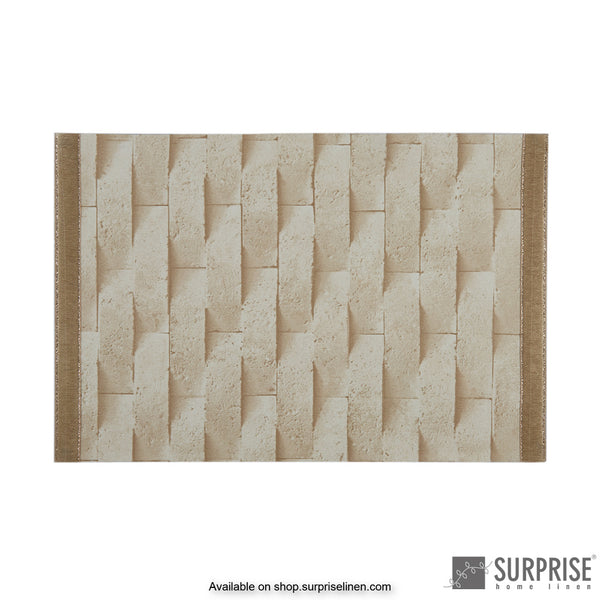 Surprise Home - Laminated Table Mats (Light Beige)