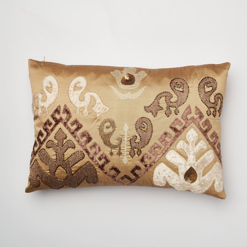 Surprise Home - Patola Cushion Covers (Copper)