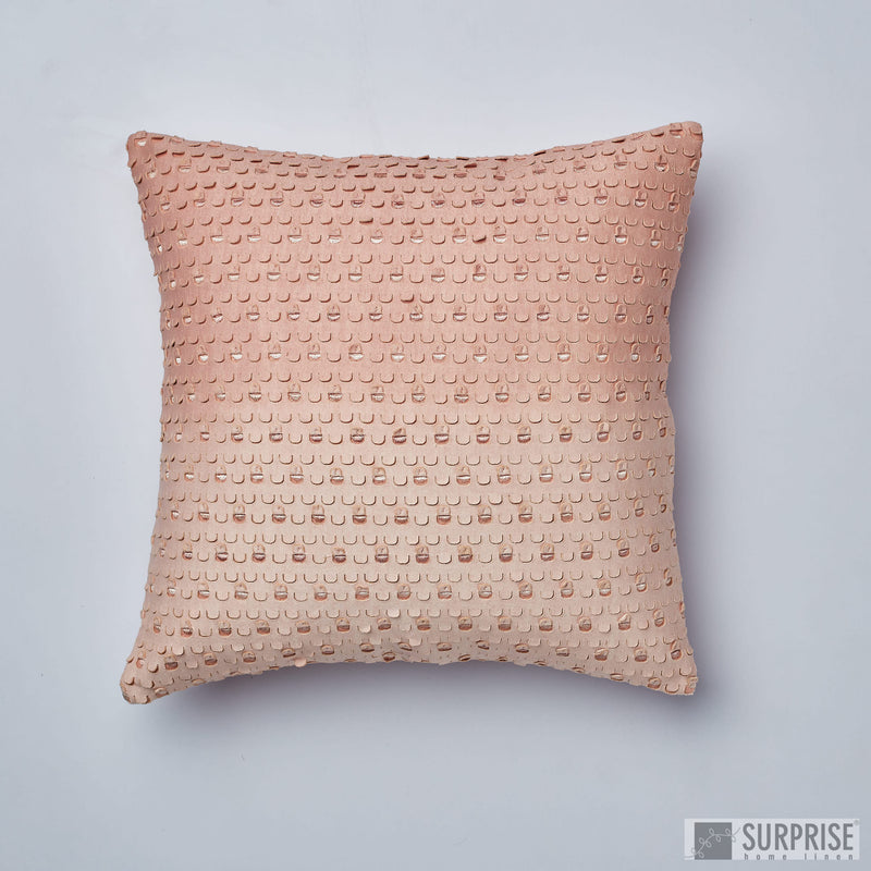 Surprise Home - Shaded Windows Cushion Covers (Blush Pink)