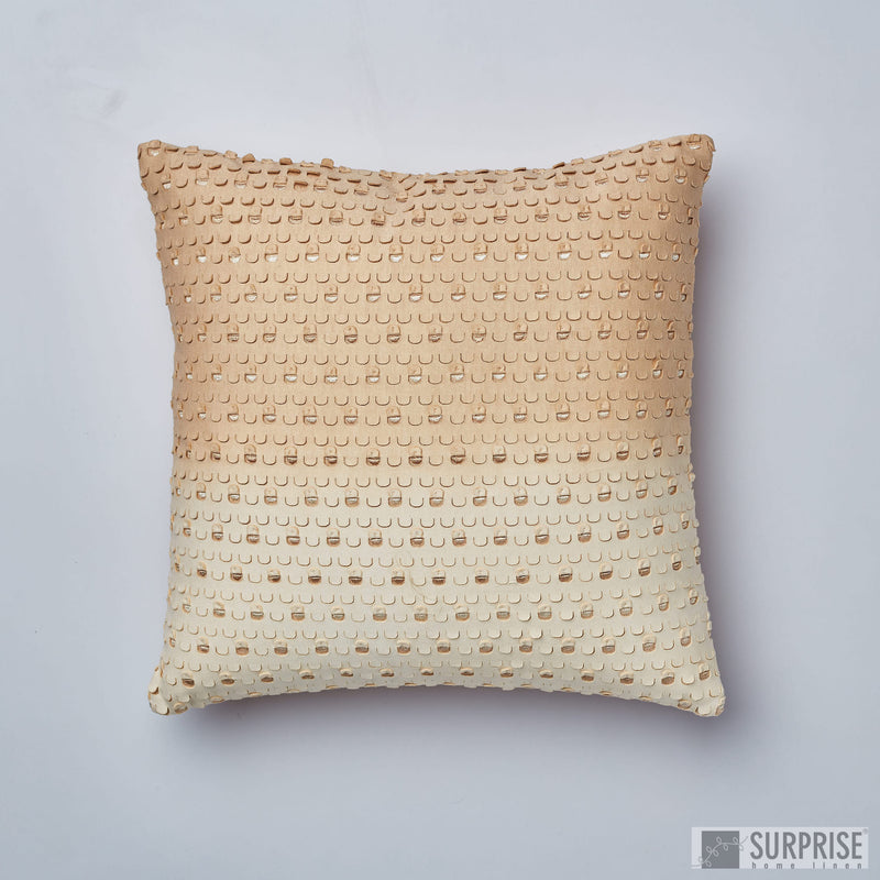 Surprise Home - Shaded Windows Cushion Covers (Cream)