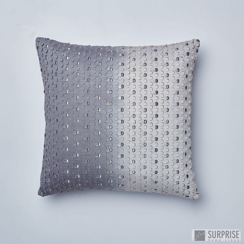 Surprise Home - Shaded Windows Cushion Covers (Grey)