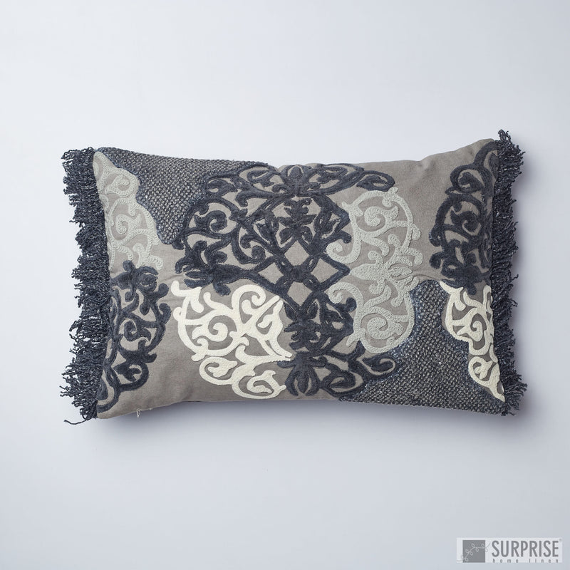 Surprise Home - Modern Damask 30 x 45 cms Cushion Cover