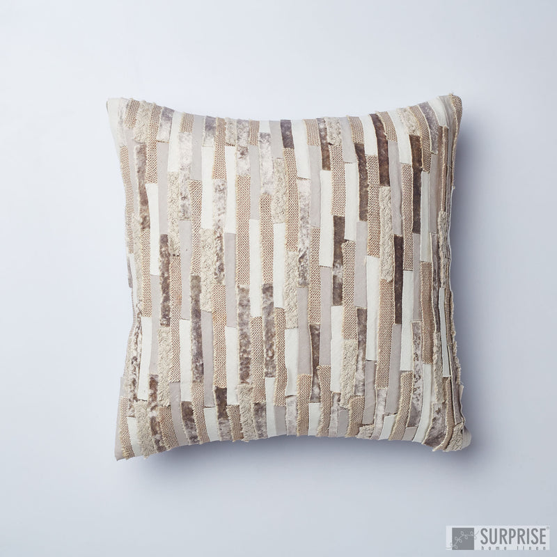 Surprise Home - Textures Cushion Covers (Grey)