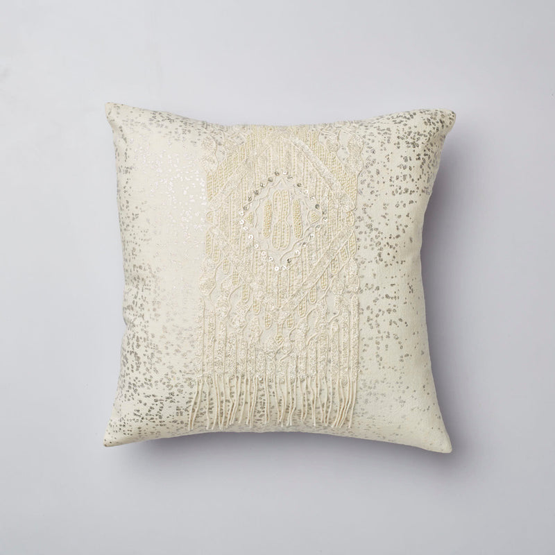 Surprise Home - Dream Catcher Cushion Covers (White)