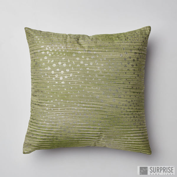 Surprise Home - Aari Dots Cushion Cover (Green)
