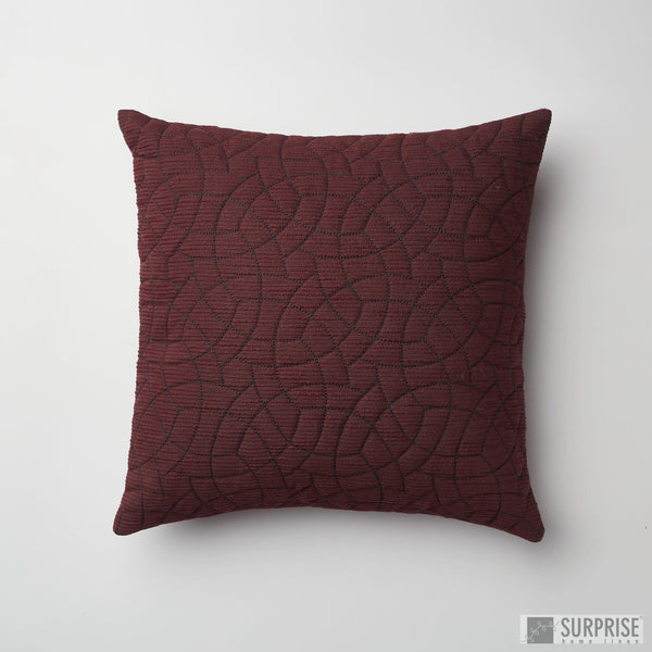 Surprise Home - Circle Trellis Cushion Covers (Magenta)