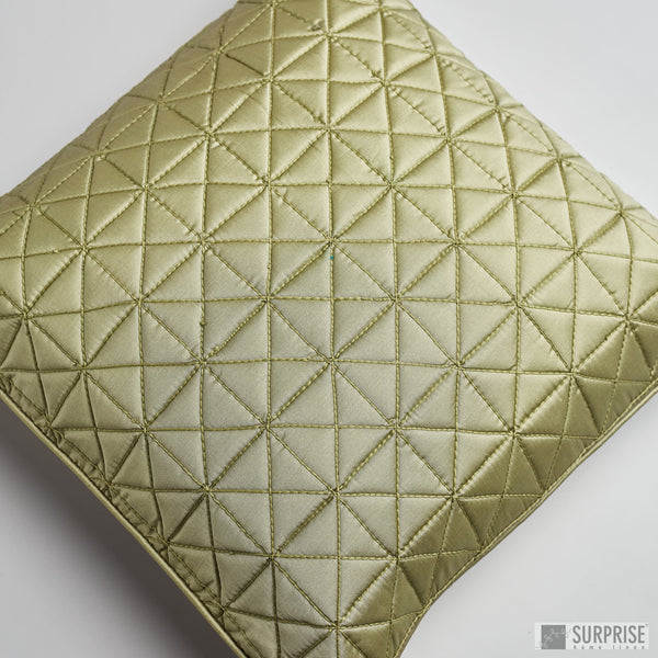 Surprise Home - Grid 40 x 40 cms Cushion Covers (Sage Green)