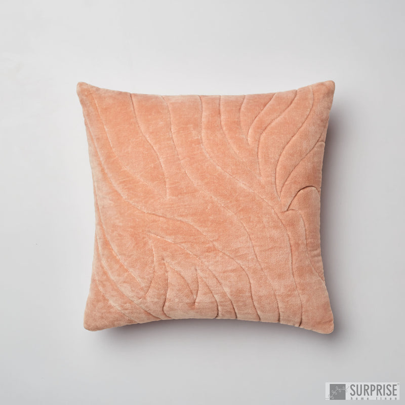 Surprise Home - Quilted Waves Cushion Covers (Blush Pink)